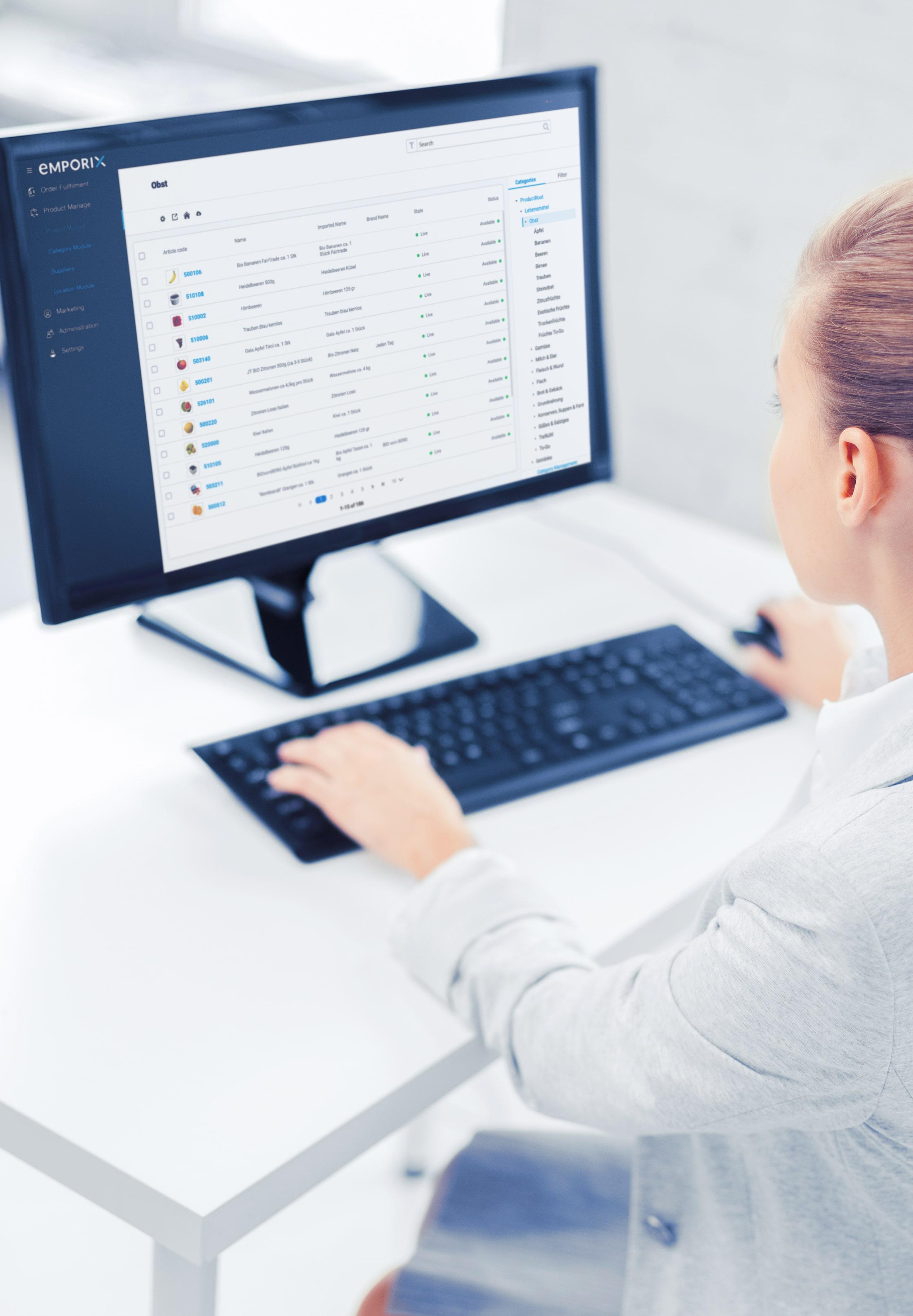 Emporix Digital Commerce Platform