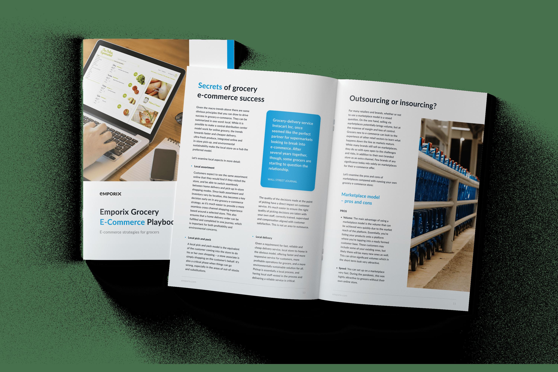 Emporix Gocery e-commerce playbook